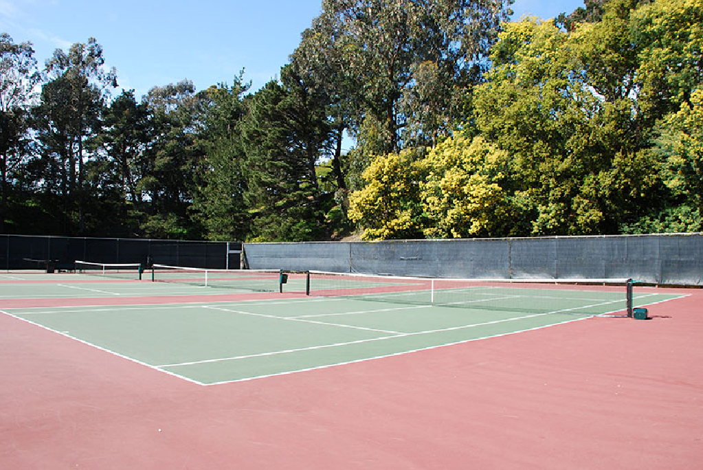 San Francisco State University tennis courts